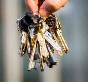 landlord insurance keys